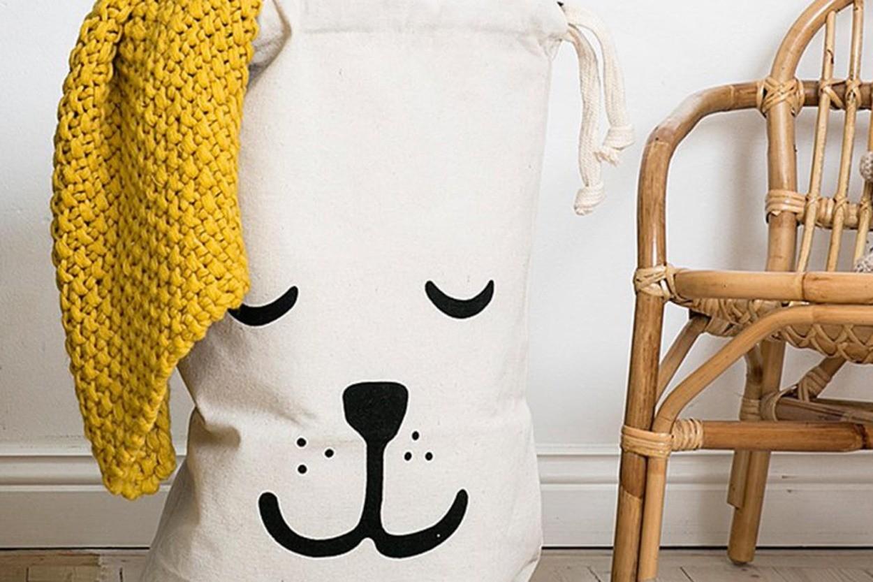 TELLKIDDO キャンバスバック Lサイズ Sleeping Bear