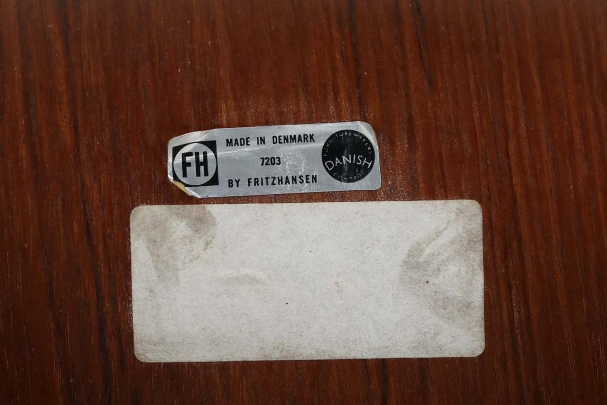 Fritz Hansen(フリッツ・ハンセン) グランプリチェア  チーク材 Arne Jacobsen(アルネ・ヤコブセン) 北欧家具ビンテージ/DK11725