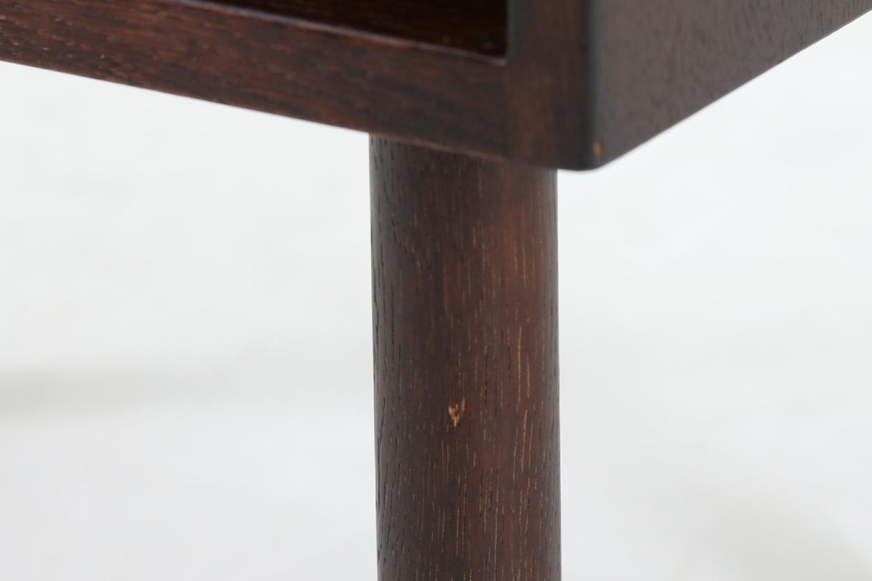 Hans J.Wegner(ハンス・J・ウェグナー) ベッドサイドテーブル オーク材 RY Mobler 北欧家具ビンテージ/DK12441