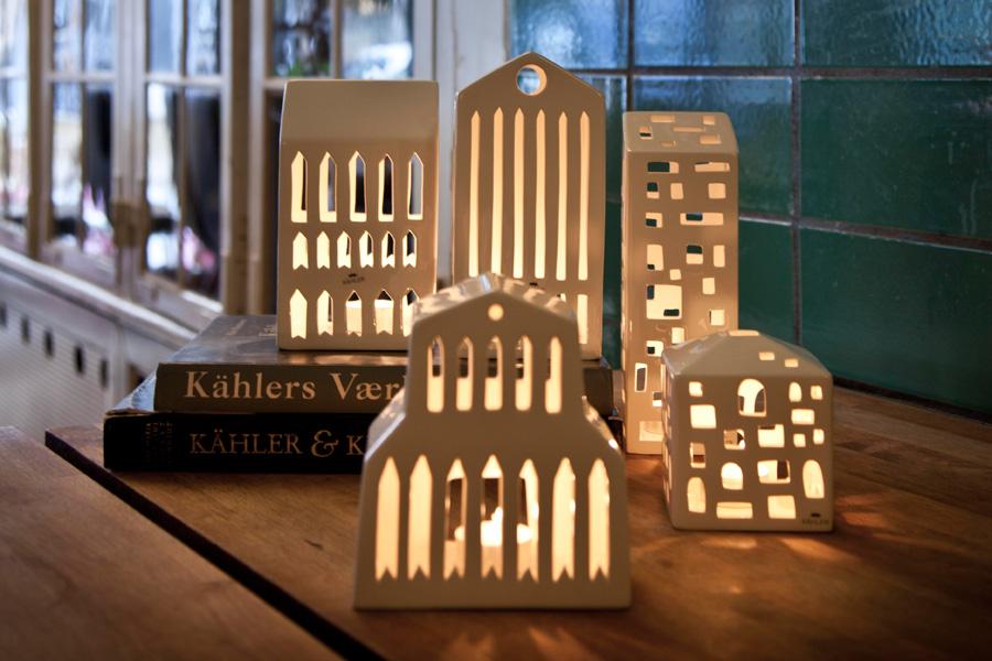 KAHLER(ケーラー) URBANIAアーバニア ティーライトハウス Basilikaバシリカ