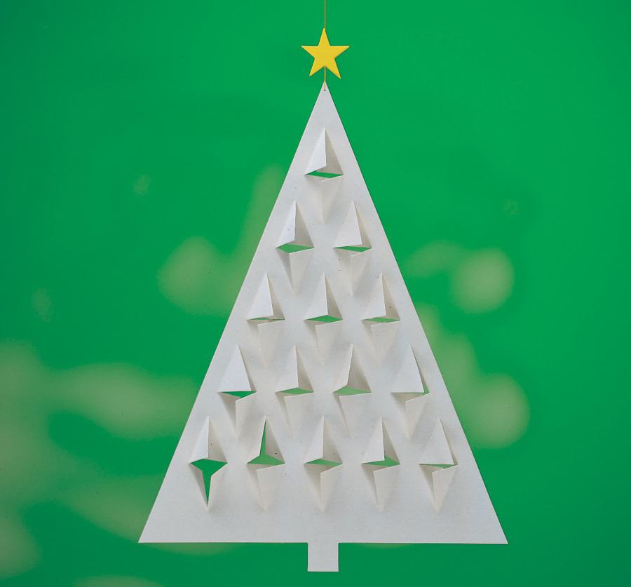 FLENSTED mobiles(フレンステッドモビール) 北欧デンマークモビール Prism Tree 白いクリスマスツリー