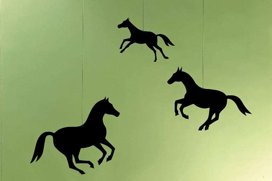 FLENSTED mobiles(フレンステッドモビール) 北欧デンマークモビール Horse 馬