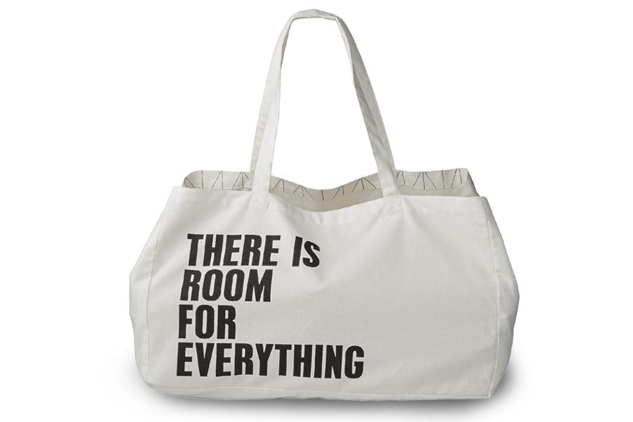 Bloomingville(ブルーミングヴィル) 【在庫限り】【40%OFF】キャンバスショッピングバッグ