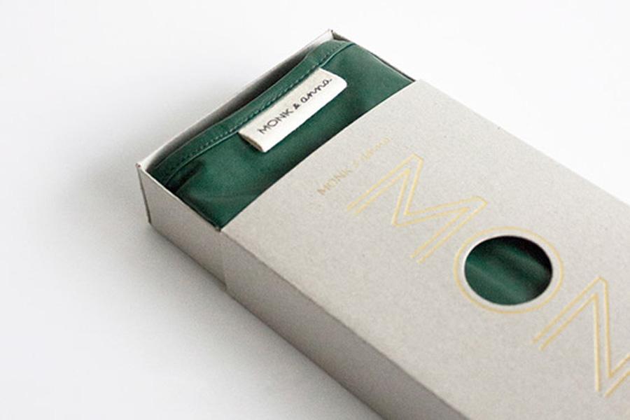 MONK&ANNA ナイロン製 シンプルなショッピングバッグ 選べる9色 Monk Bag
