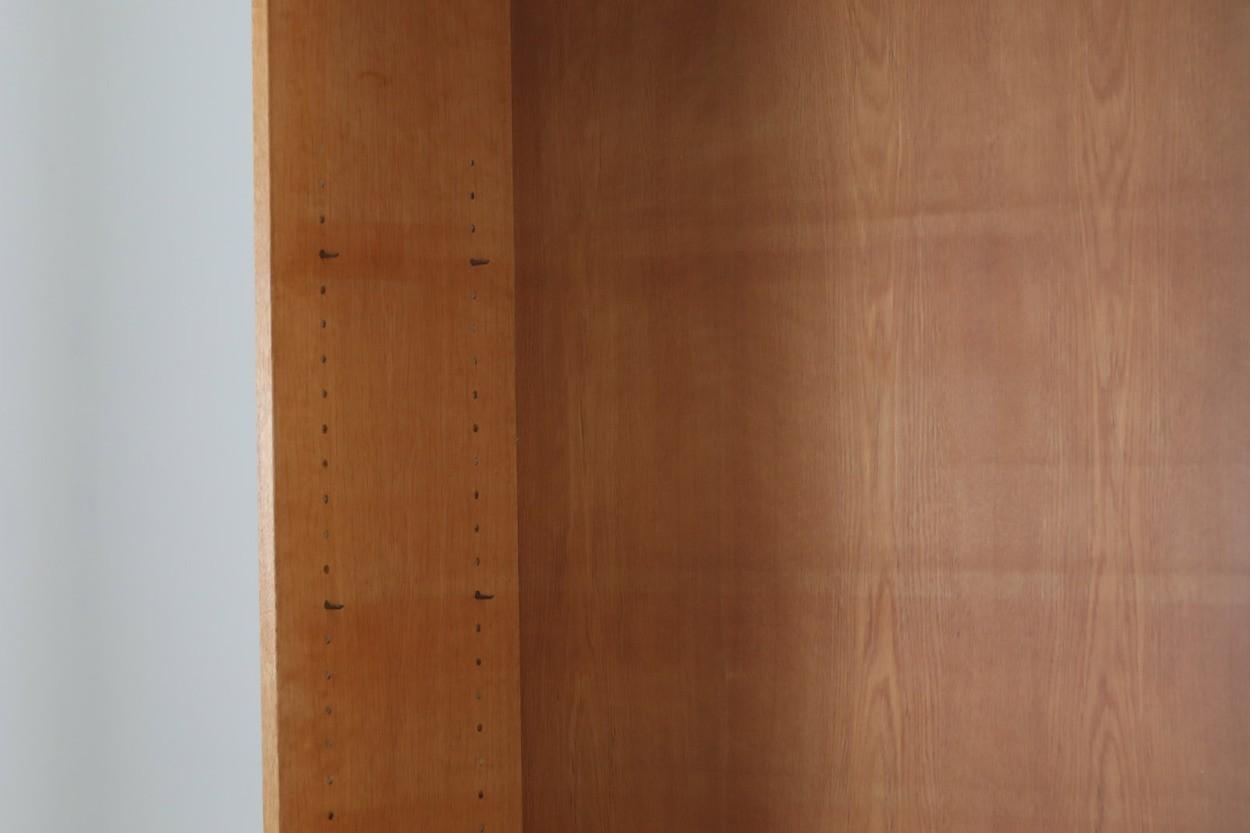 Hans J.Wegner(ハンス・J・ウェグナー) ブックシェルフ/本棚 オーク材 RY Mobler 北欧ビンテージ家具/DK10758