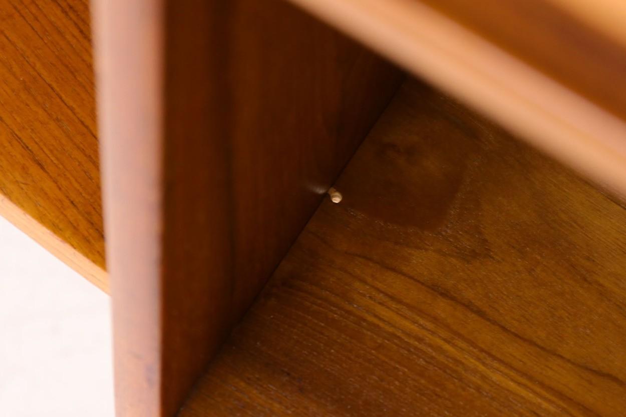 デンマーク製 キドニーデスク チーク×オーク材 北欧家具ビンテージ/DK10543