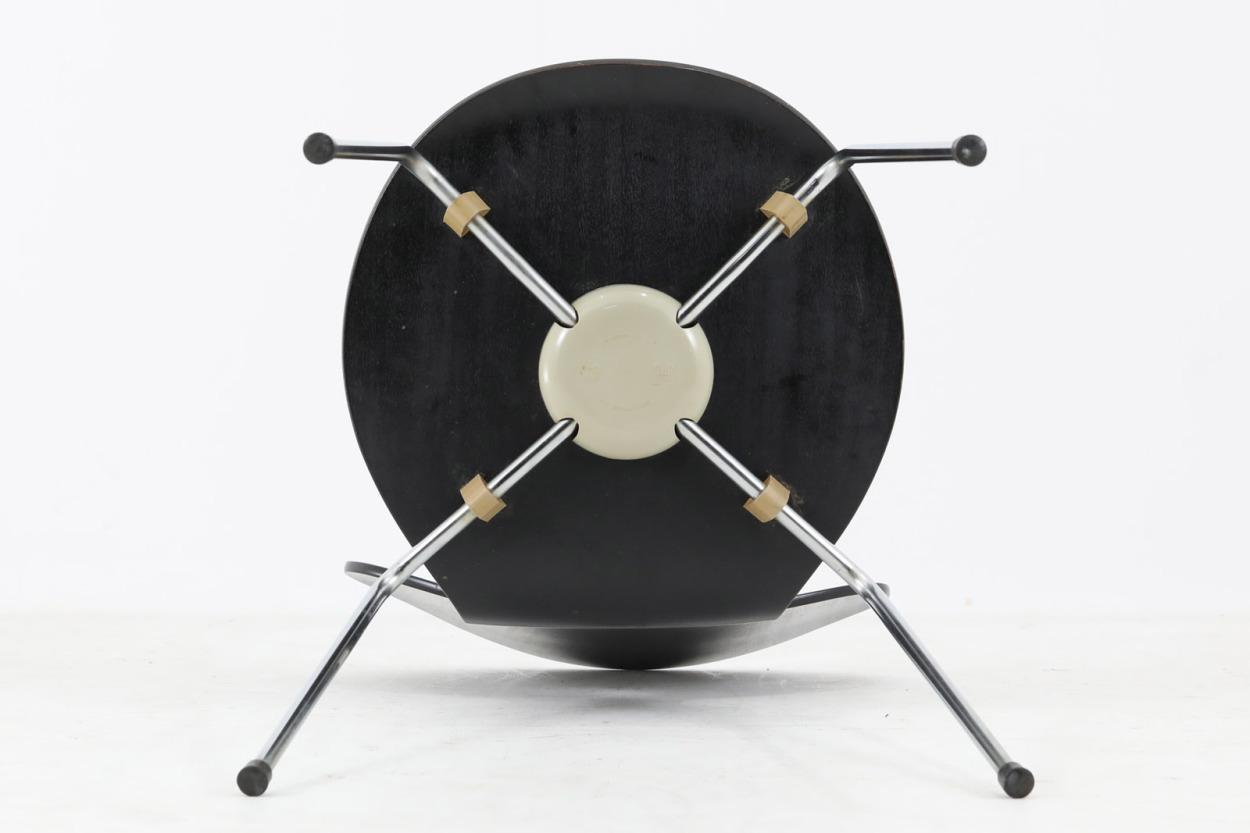 Arne Jacobsen(アルネ・ヤコブセン) アントチェア ブラック/DK11782