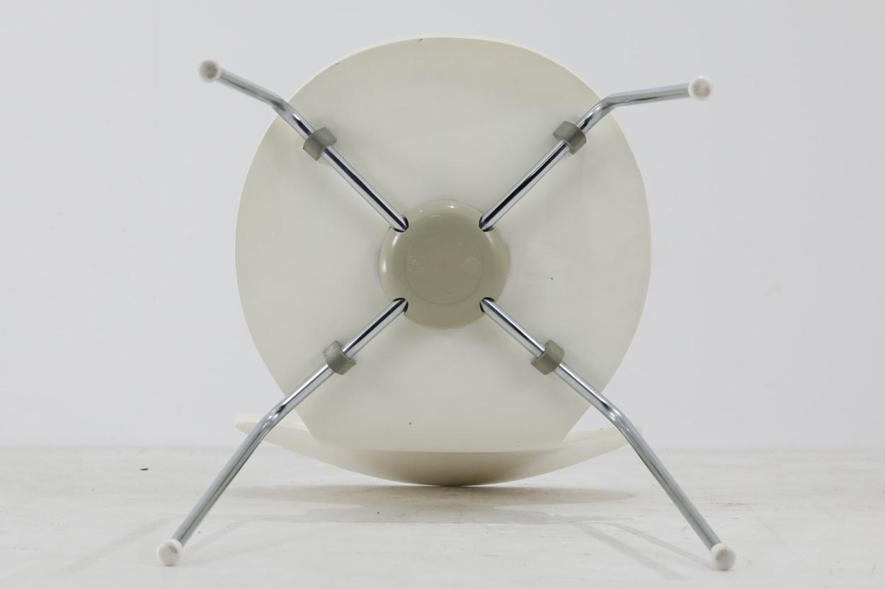 Arne Jacobsen(アルネ・ヤコブセン) アントチェア ホワイト/DK11842