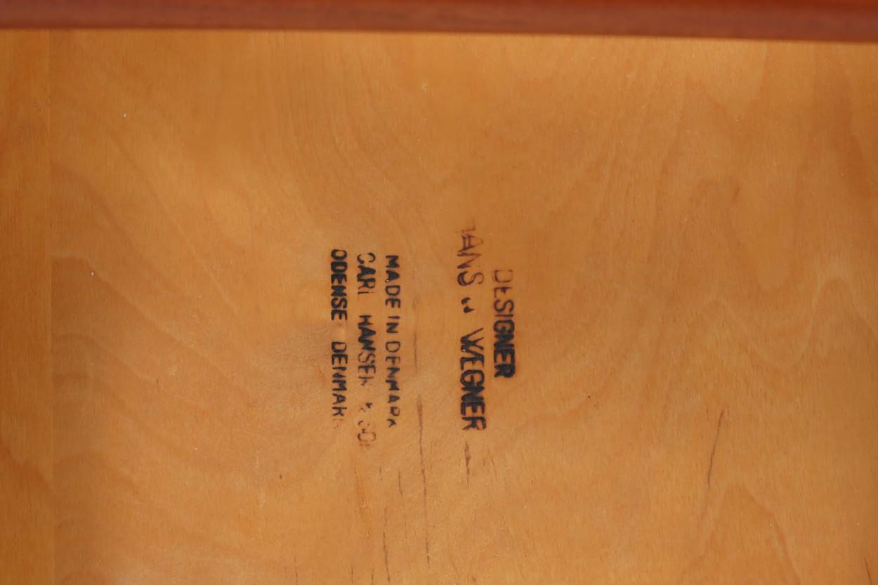 北欧家具ビンテージ CH33 チーク材 Hans J.Wegner(ハンス・J・ウェグナー)Carl Hansen & Son(カール・ハンセン&サン)/DK11713