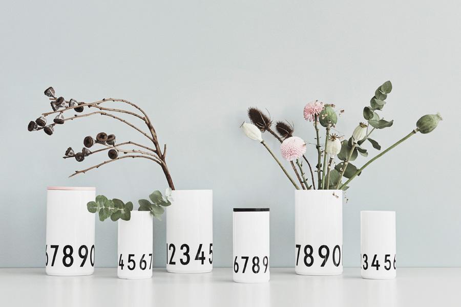DESIGN LETTERS(デザインレターズ) Arne Jacobsen アルネ ヤコブセン フラワーベース SMALL 高さ15cm