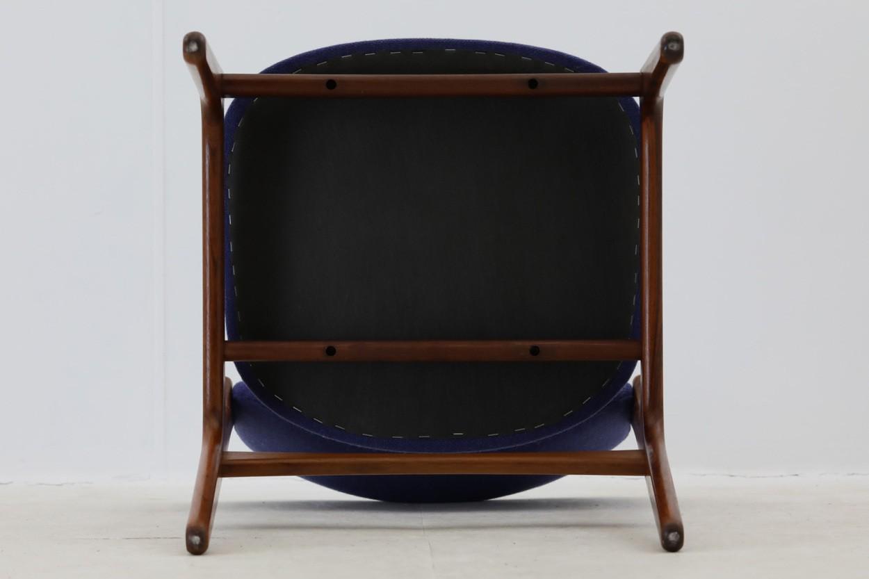 Erik Buch(エリック・バック) チェア Model49 ローズウッド材 デンマーク製 北欧家具ビンテージ/DK7734