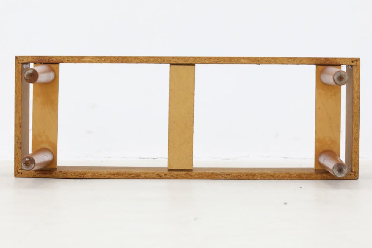 デンマーク製 チーク材 プランター 北欧家具ビンテージ/DK10556