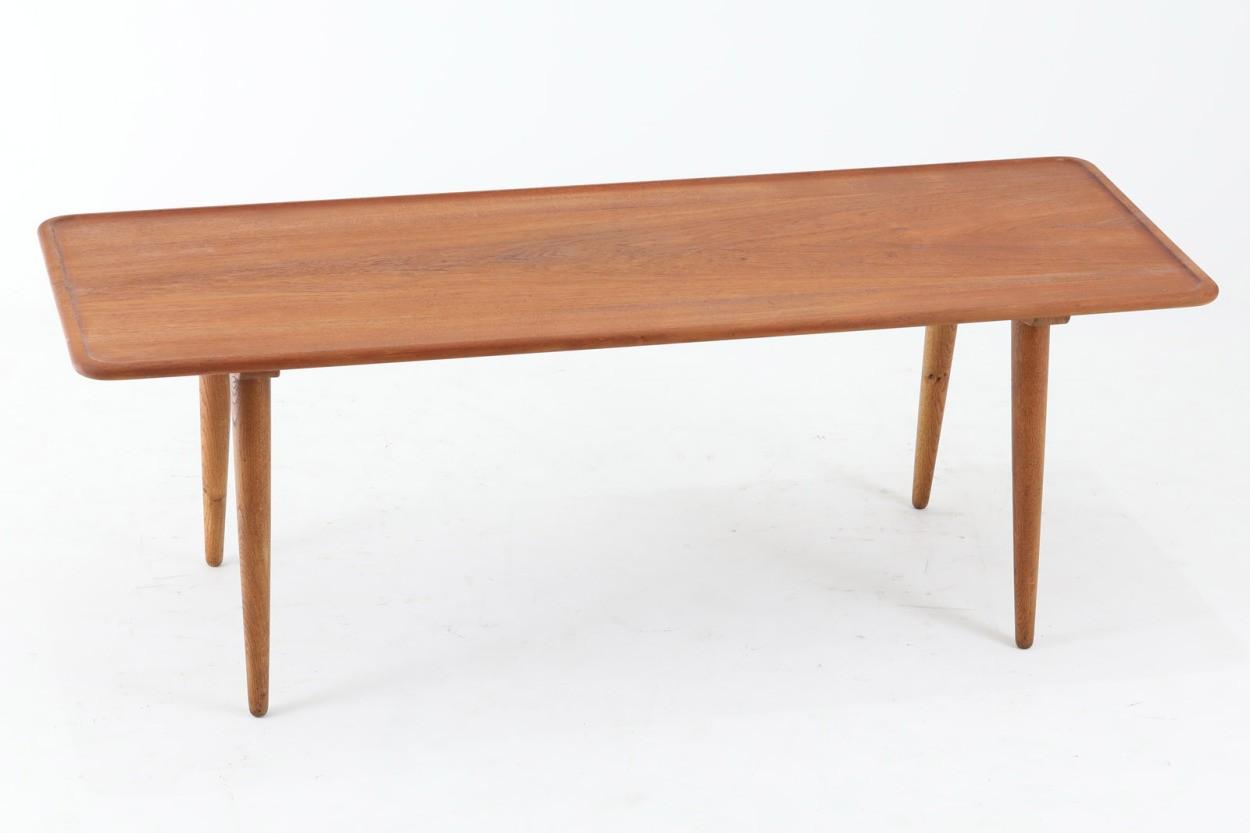Hans J.Wegner(ハンス・J・ウェグナー) センターテーブル AT11 150cm チーク×オーク無垢材 北欧家具ビンテージ デンマーク製/DK11406