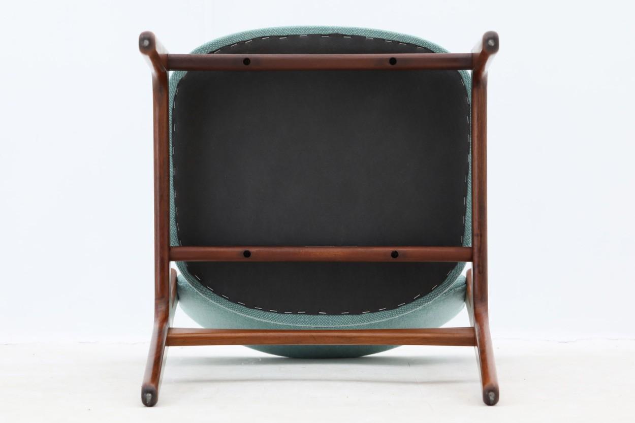 Erik Buch(エリック・バック) チェア Model49 ローズウッド材 デンマーク製 北欧家具ビンテージ/DK7733