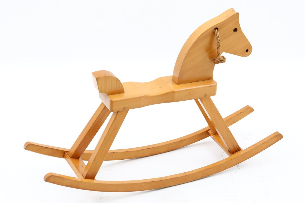 デンマーク製 Kay Bojesen カイ・ボイスン ロッキングチェア ホース/木馬 ビーチ材 北欧家具ビンテージ/DK11251