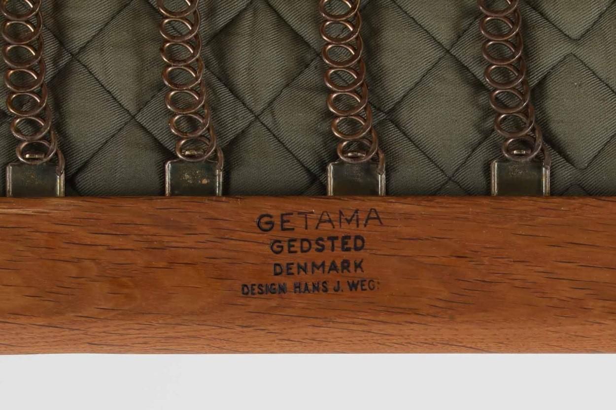 北欧家具ビンテージ GE290 ハイバックソファ オーク材 Hans J.Wegner(ハンス・J・ウェグナー) GETAMA/ゲタマ/DK11222