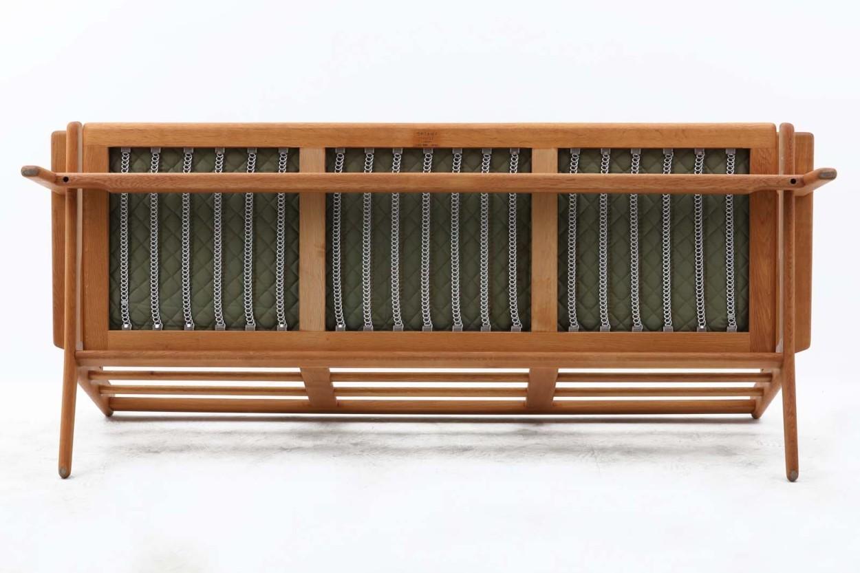 北欧家具ビンテージ GE290 トリプルソファ オーク材 Hans J.Wegner(ハンス・J・ウェグナー) GETAMA/ゲタマ/DK10367