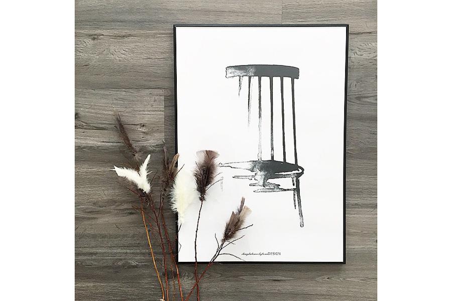 Magdalena Tyboni Design ポスター/アートプリント 50 x 70 cm Pinnstolen