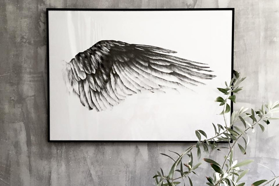 Magdalena Tyboni Design ポスター/アートプリント 70 x 100 cm THE WING OF IKAROS