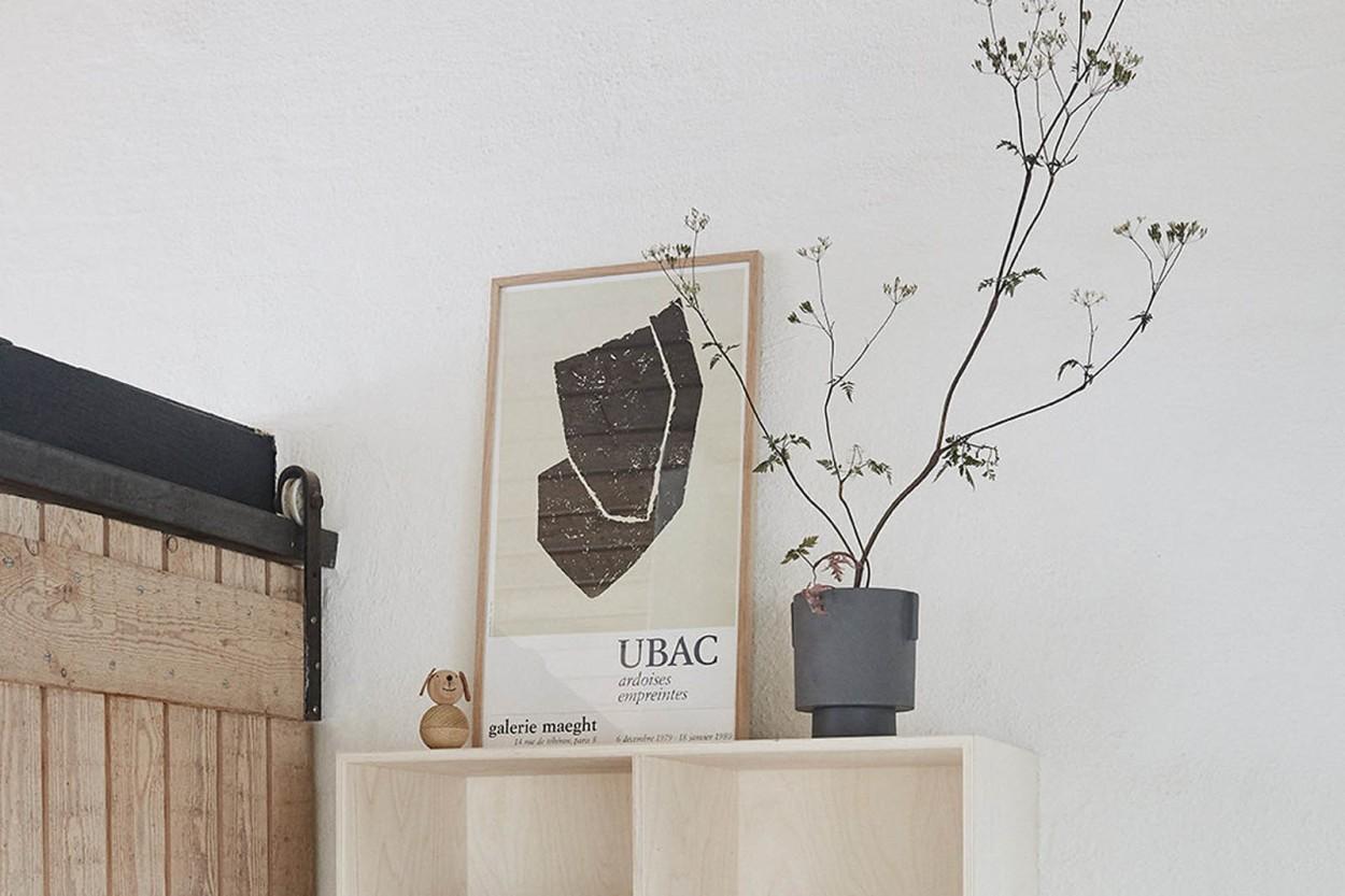 OYOY Living Design ビーチ材天然木の子供用オブジェ ドッグ