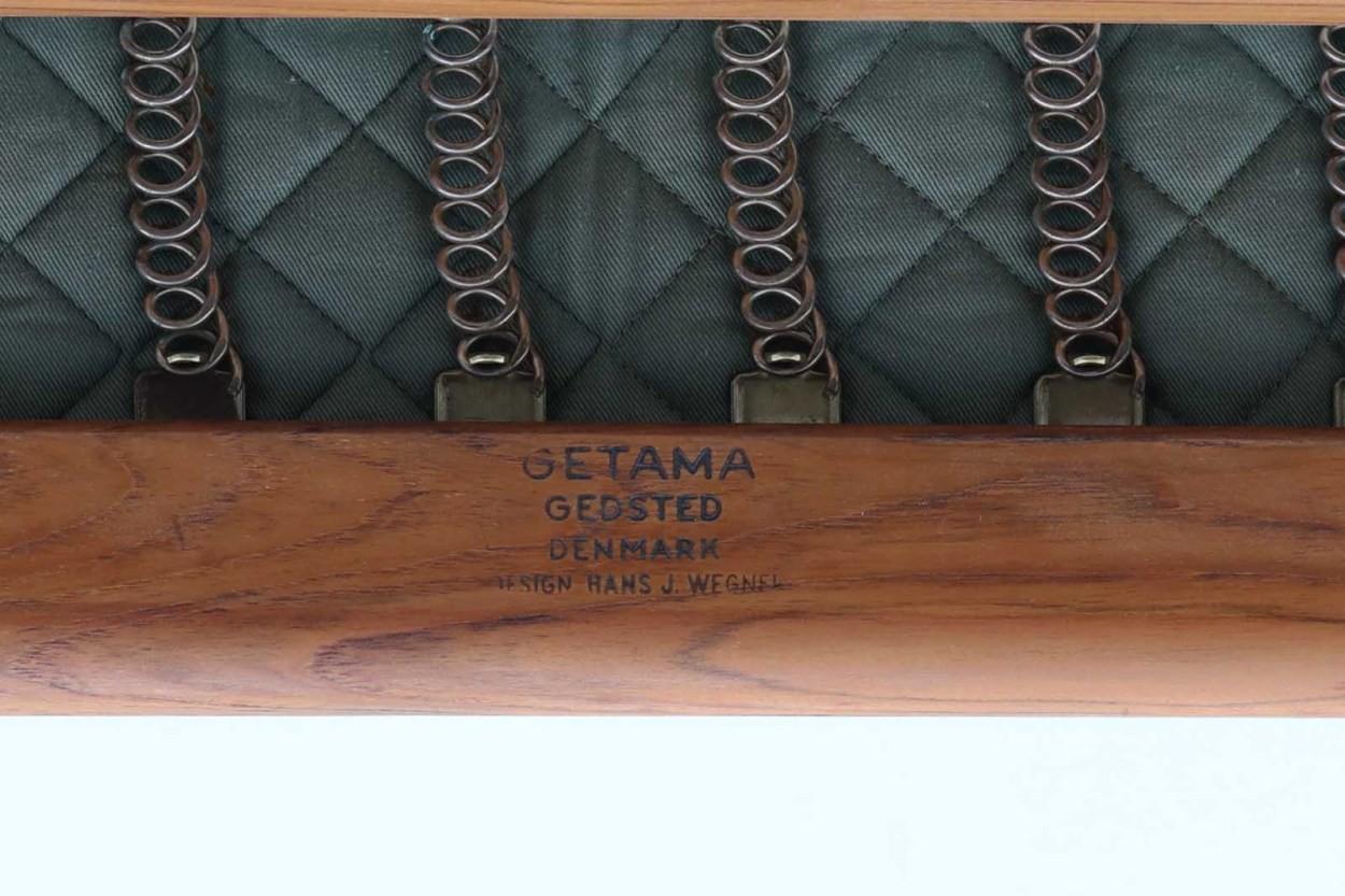 北欧家具ビンテージ GE290 シングルソファ チーク材 Hans J.Wegner(ハンス・J・ウェグナー) GETAMA/ゲタマ/DK10566