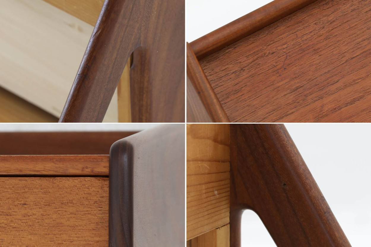 デンマーク製 壁掛けシェルフ 北欧家具ビンテージ/DK9047