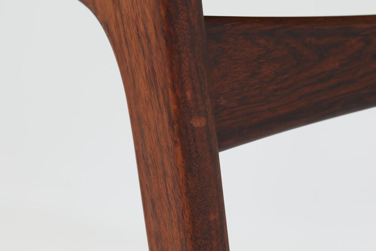 Erik Buch(エリック・バック) アームチェア ローズウッド材 Model49 デンマーク製 北欧家具ビンテージ/DK7655