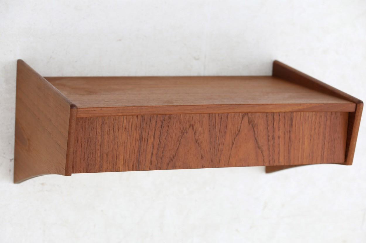 デンマーク製 壁掛けシェルフ 北欧家具ビンテージ/DK9678
