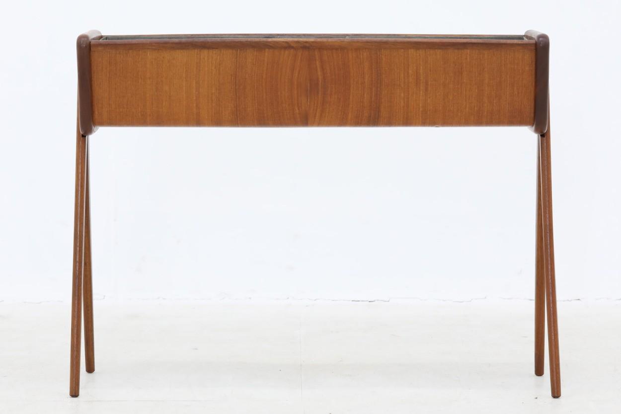 デンマーク製 チーク材 プランター 北欧家具ビンテージ/DK10748