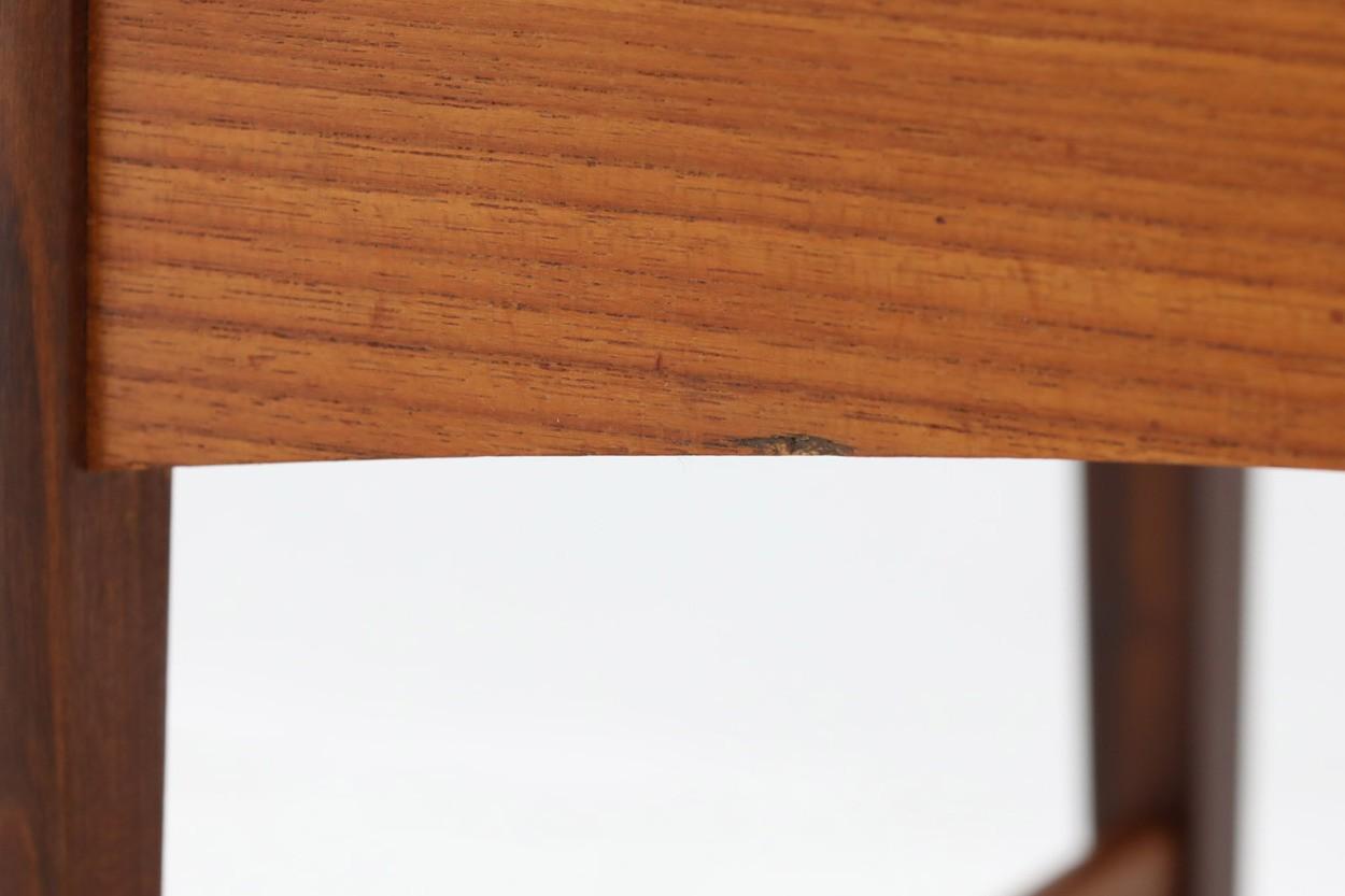 デンマーク製 お洒落なソーイングワゴンテーブル 北欧家具ビンテージ/DK9663