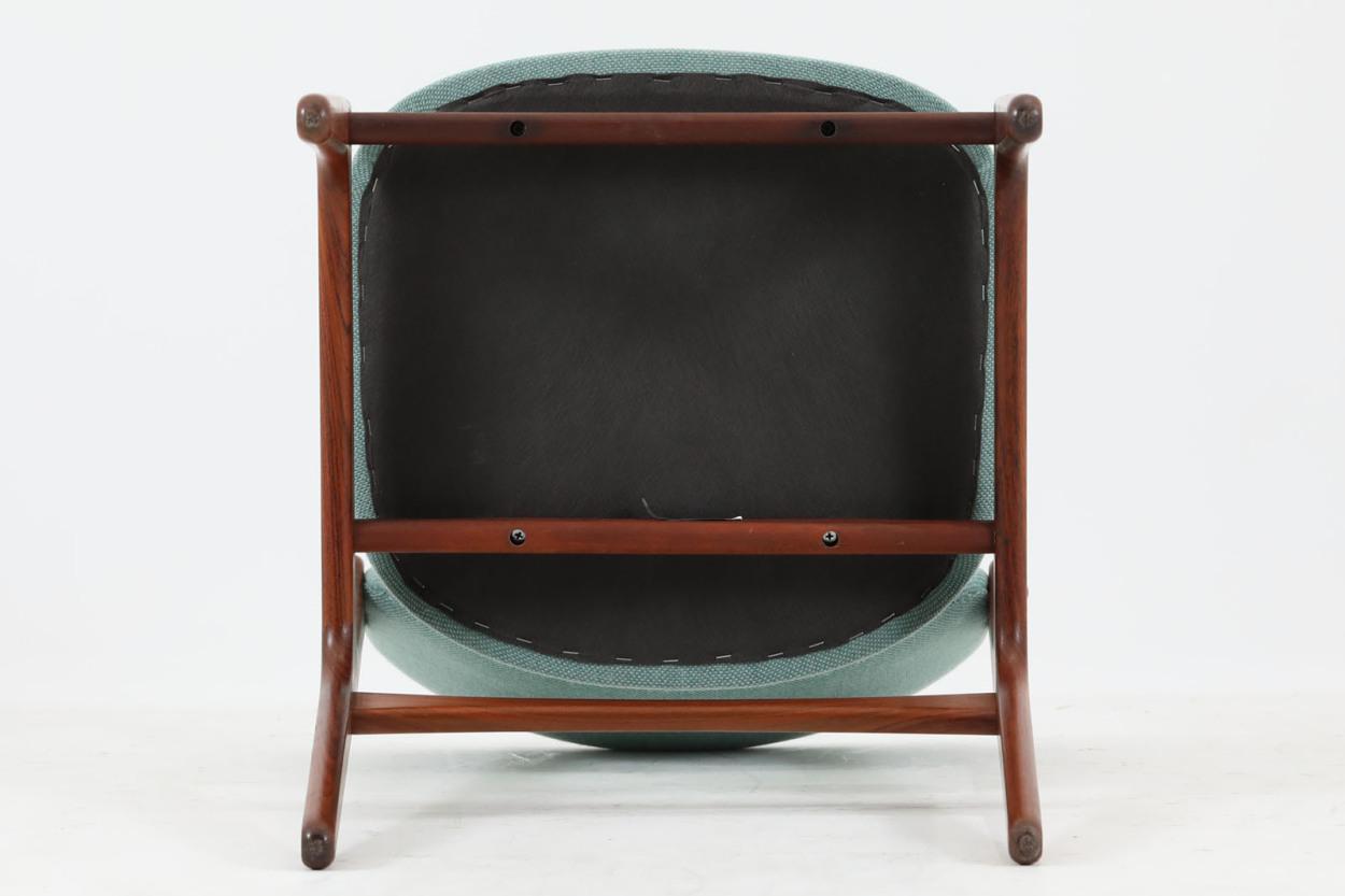 Erik Buch(エリック・バック) チェア Model49 ローズウッド材 デンマーク製 北欧家具ビンテージ/DK7732