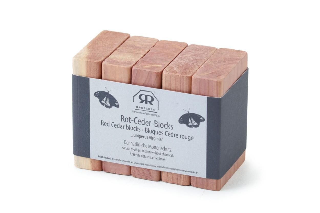 REDECKER(レデッカー) レッドシダー防虫剤ブロック 5個セット