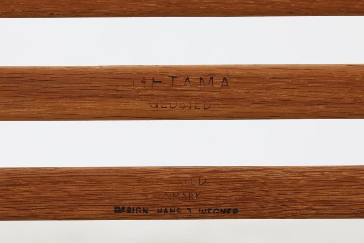 北欧家具ビンテージ GE290 オットマン/スツール オーク材 Hans J.Wegner(ハンス・J・ウェグナー) GETAMA/ゲタマ/DK11223