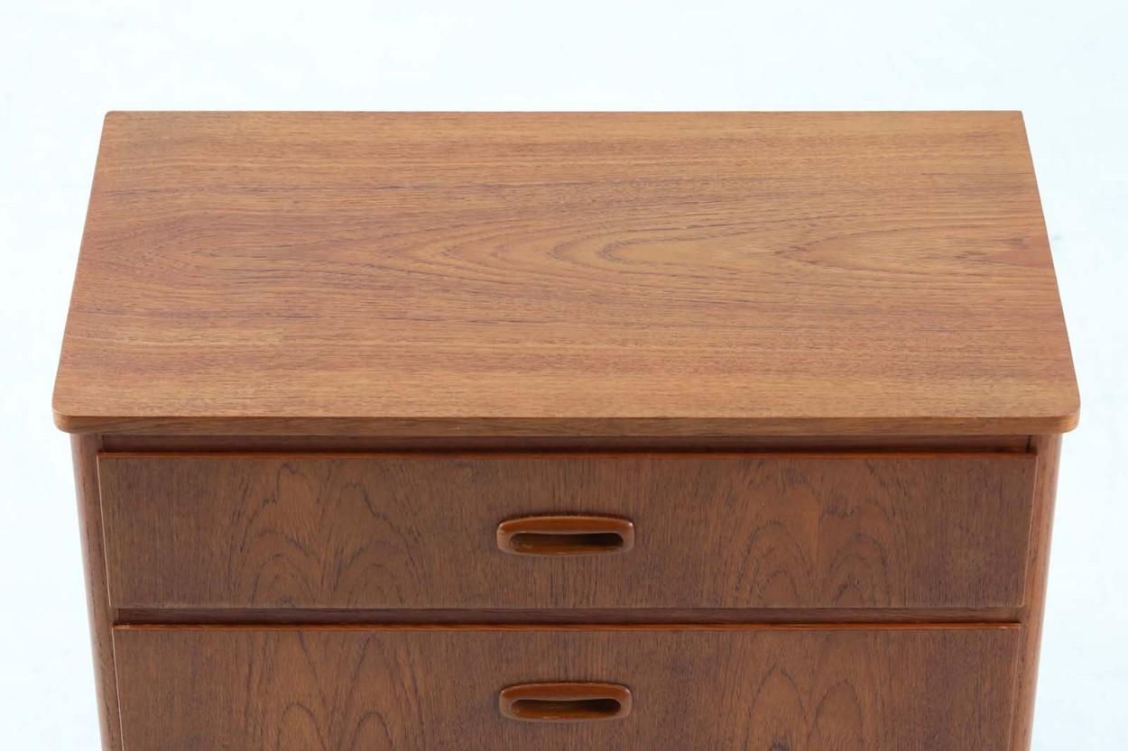 スウェーデン製 チェスト3段 チーク材 北欧家具ビンテージ/DK11645