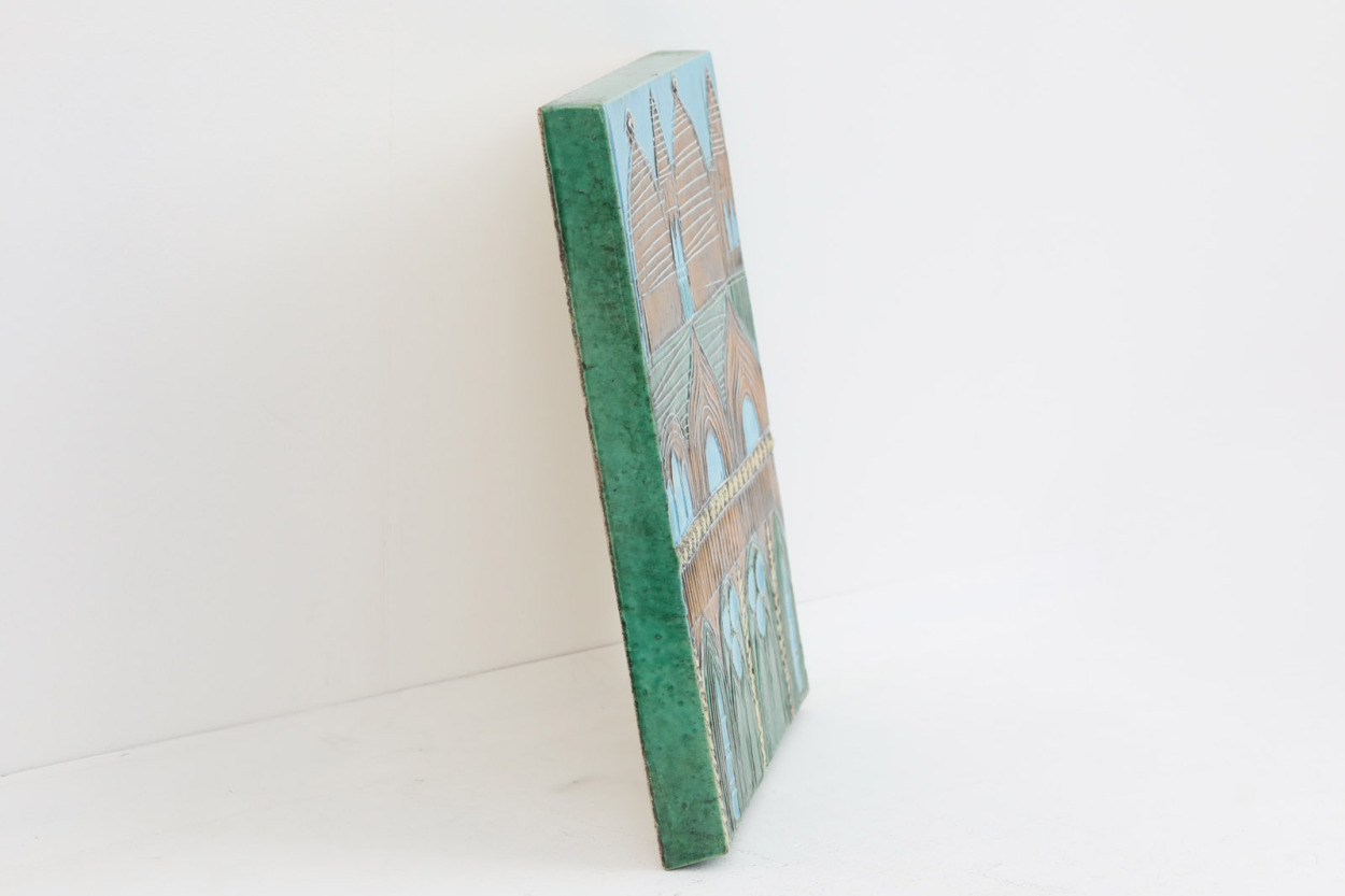 Lisa Larson リサ ラーソン 陶板 VAGGPLATTOR Venedig ヴェネチア/ベネチア /TA11929