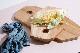 Broste Copenhagen オーク材のおしゃれな形のカッティングボードトレイ Mサイズ