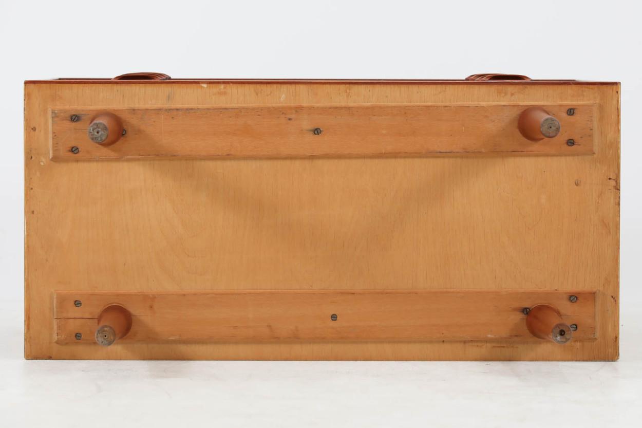 Kai Kristiansen(カイ・クリスチャンセン) チェスト4段 チーク材 デンマーク製 北欧家具ビンテージ/DK11706
