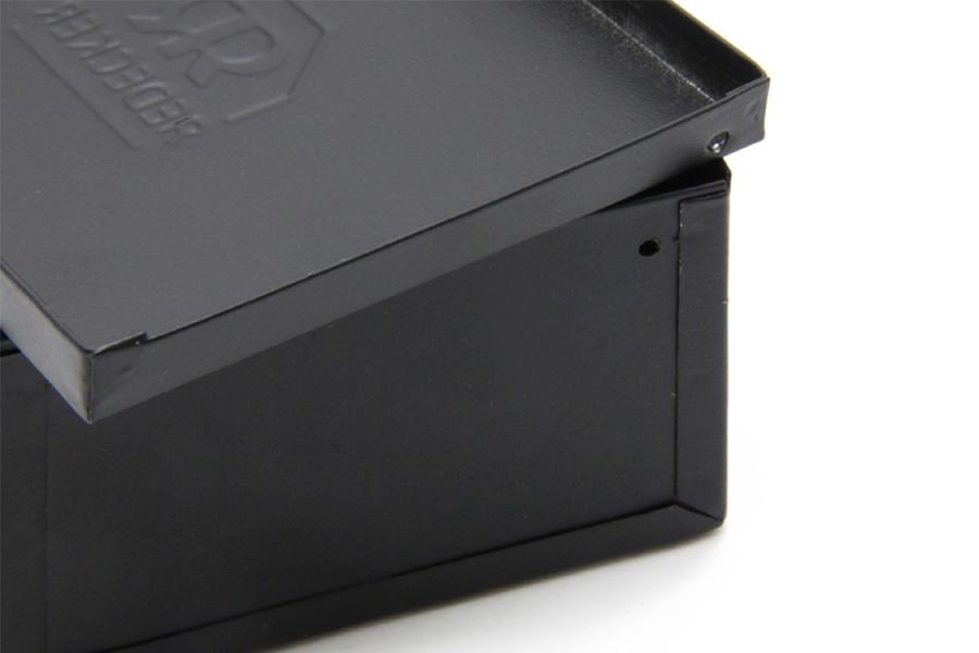 REDECKER(レデッカー) ブリキの蓋付きソープボックス/小物入れ Mサイズ