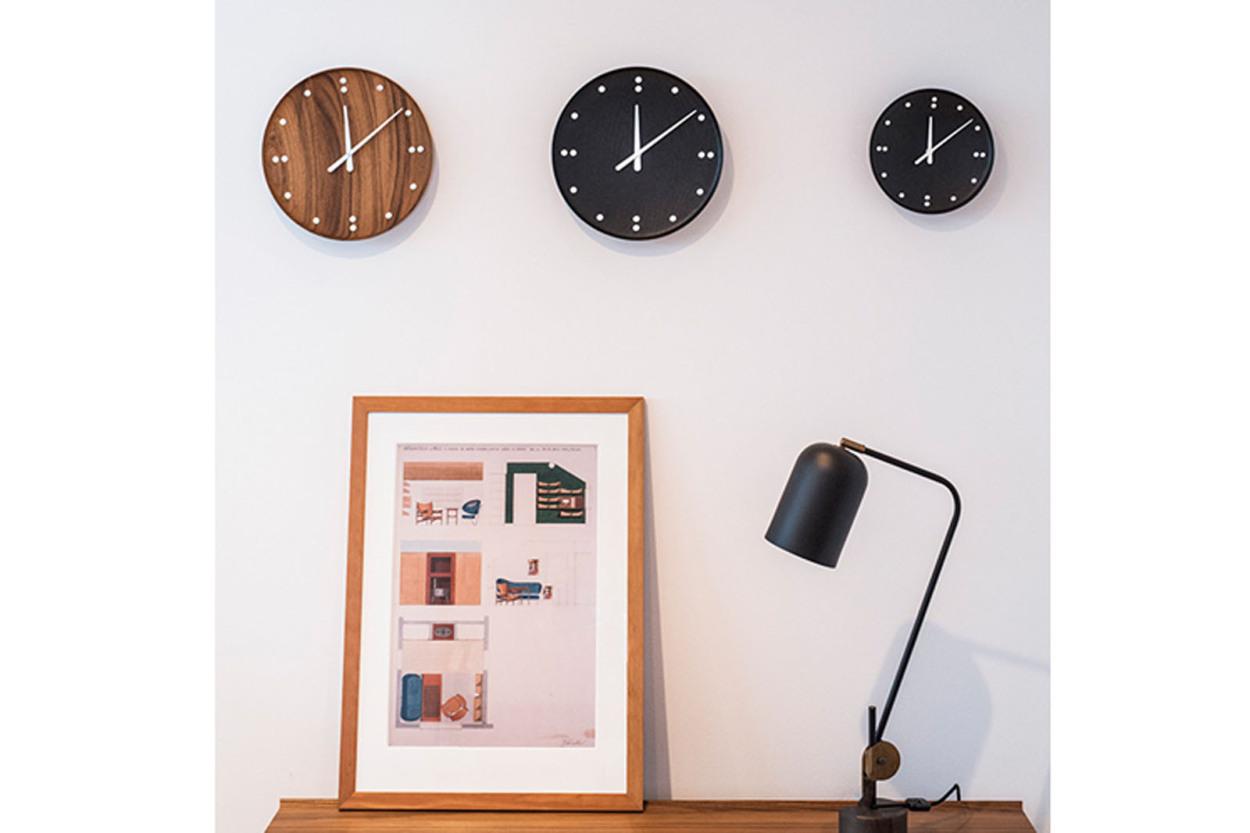 ARCHITECTMADE(アーキテクトメイド) Finn Juhl フィンユール FJ Clock 781 ブラック 掛け時計/ウォールクロック