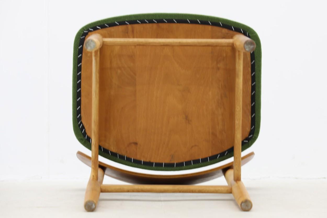 デンマーク製 Borge Mogensen(ボーエ・モーエンセン) Model 122 チェア チーク×オーク材 北欧家具ビンテージ/DK10223