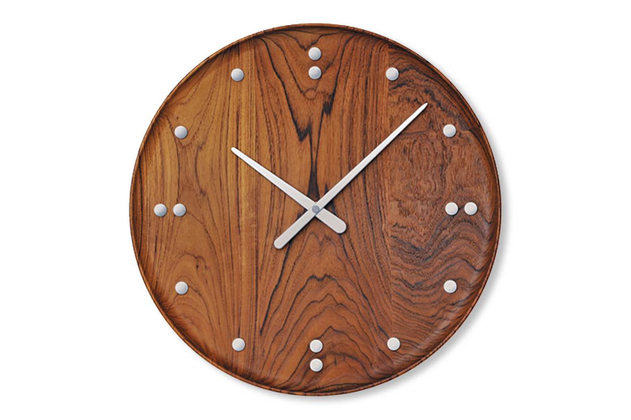 ARCHITECTMADE(アーキテクトメイド) Finn Juhl フィンユール FJ Clock 780 チーク材 掛け時計/ウォールクロック