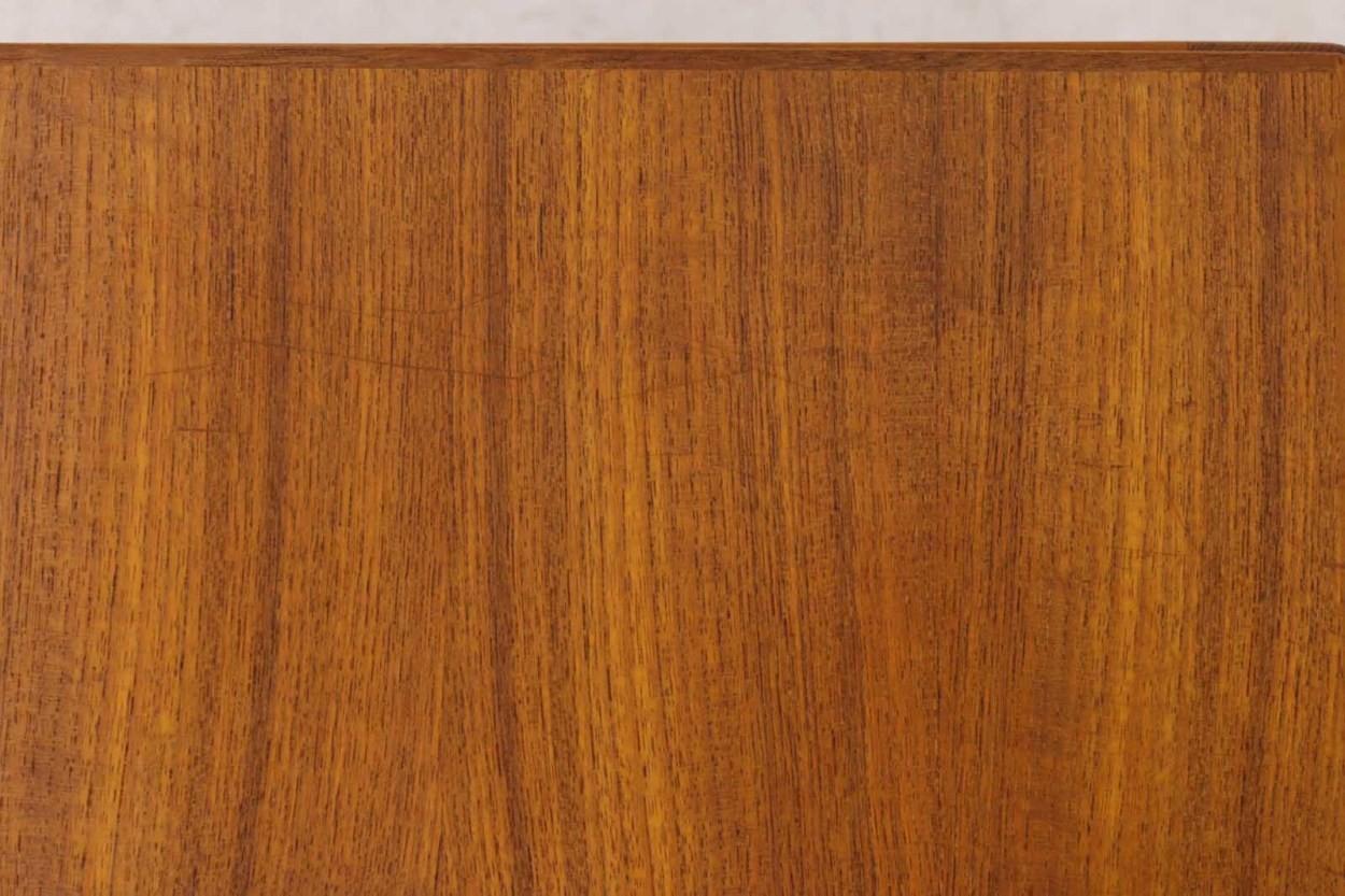 Kai Kristiansen(カイ・クリスチャンセン) サイドテーブル チーク材 Aksel Kjersgaard(アクセル・キアスゴー) 北欧家具ビンテージ/DK9623