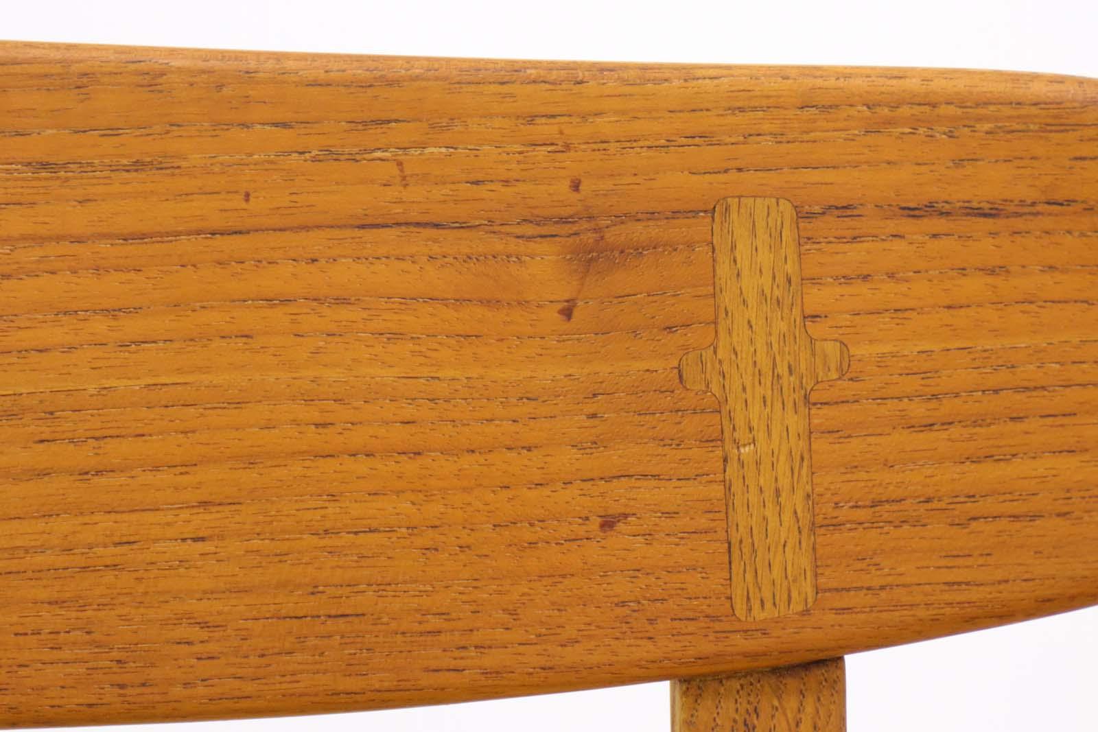 Illums Bolighus(イルムス・ボリフス) Hans J.Wegner(ハンス・J・ウェグナー) CH23 チェア Carl Hansen & Son(カール・ハンセン&サン) 北欧ビンテージ家具/DK7055