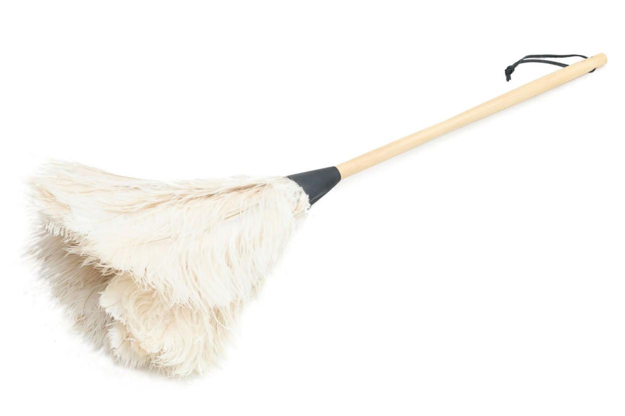 REDECKER(レデッカー) オーストリッチフェザーダスター/ダチョウ羽はたき 70cm ホワイト
