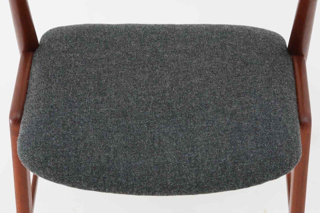デンマーク製 Kai Kristiansen(カイ・クリスチャンセン) ネイルチェア チーク材 北欧家具ビンテージ/DK7640