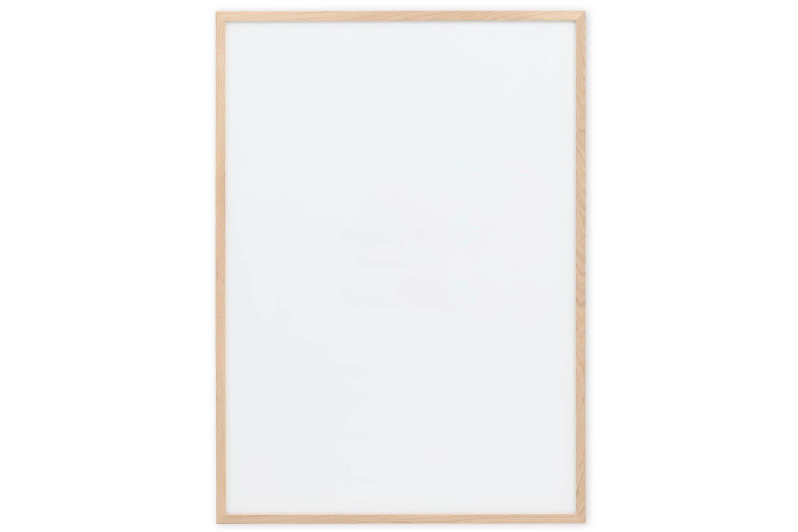 CHLOROS オーク無垢材 ナチュラルなポスターフレーム/額縁 70×100cm