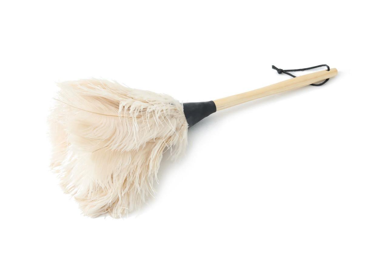 REDECKER(レデッカー) オーストリッチフェザーダスター/ダチョウ羽はたき 50cm ホワイト