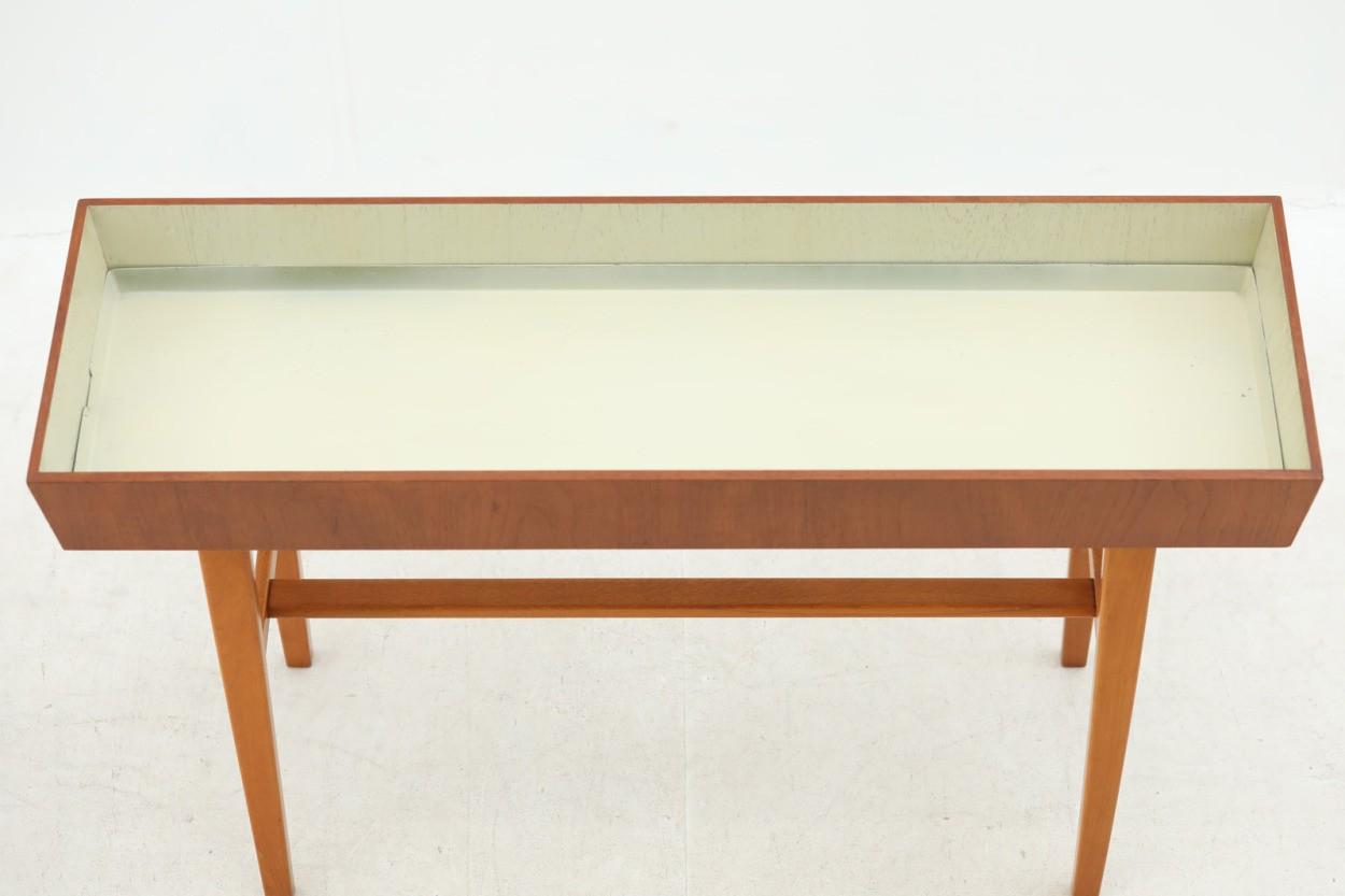 スウェーデン製 チーク×ビーチ材 プランター 北欧家具ビンテージ/DK10140