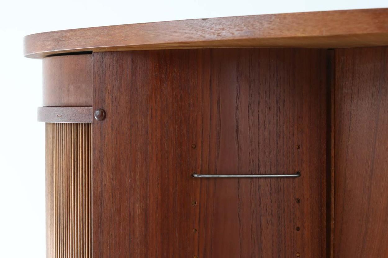 Kai Kristiansen(カイ・クリスチャンセン) キドニーデスク デンマーク製 チーク材 北欧家具ビンテージ/DK11451