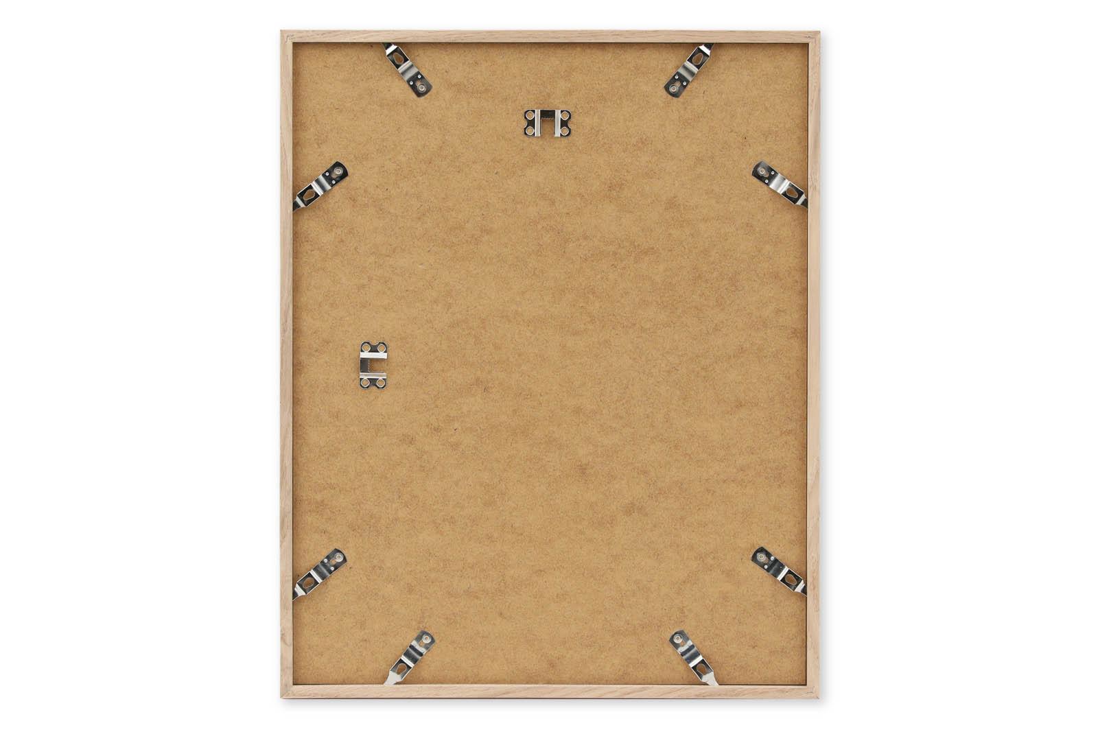 CHLOROS オーク無垢材 ナチュラルなポスターフレーム/額縁 40×50cm